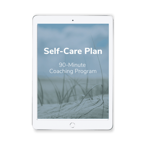 Self-Care Plan Coaching Program