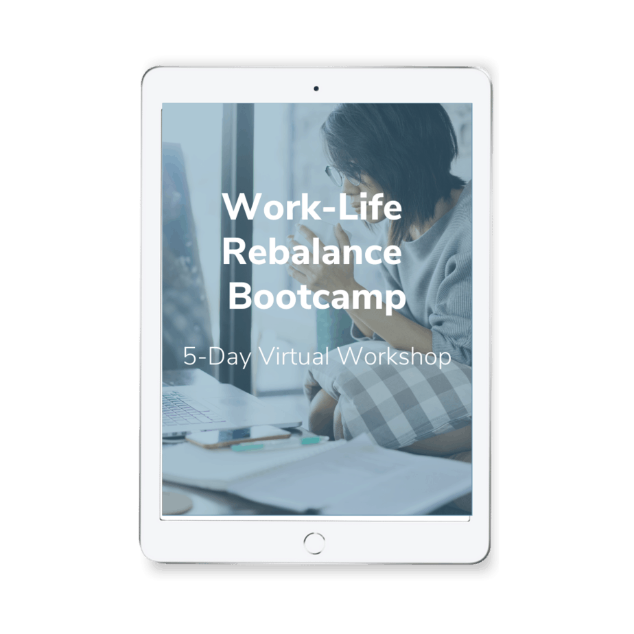 WLB Bootcamp - Cure for Obstacles to Self-Care for Overwhelmed Working Parents Minicourse