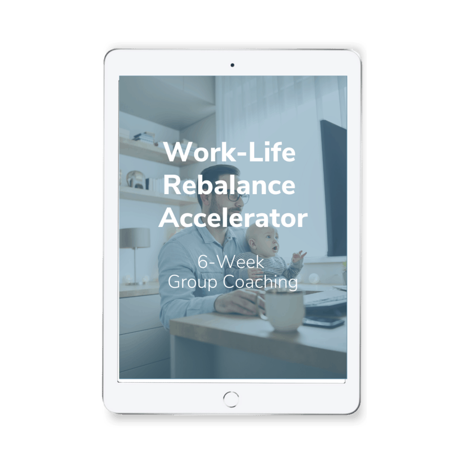 WLR Accelerator - Cure for Obstacles to Self-Care for Overwhelmed Working Parents Minicourse